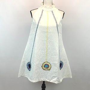 Dresses & Skirts - Winter White Sleeveless  Dress